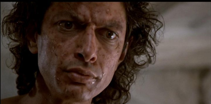 Fly Movie 1986. Jeff Goldblum. Fly Creature Collage. Gory ... |Jeff Goldblum The Fly